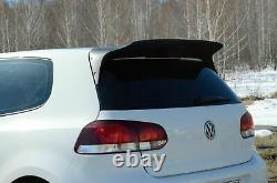 Aileron de becquet de toit arrière pour Volkswagen Golf 6 MK6 GTi R32 2008-2013