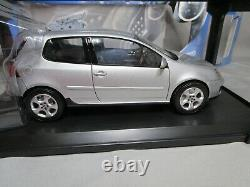 Ar654 Norev 1/18 Vw Volkswagen Golf V Gti 2005 Silver Met 188448 Tres Bon Etat