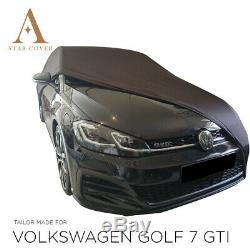 Bche De Protection Compatible Avec Volkswagen Golf 7 Gti Pour Intérieur Noir
