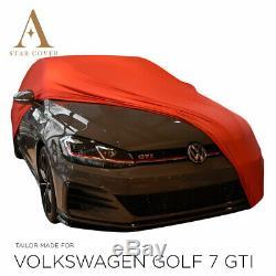 Bche De Protection Compatible Avec Volkswagen Golf 7 Gti Pour Intérieur Rouge