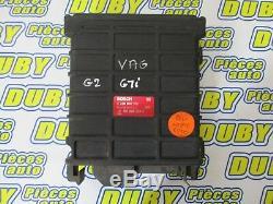 Calculateur moteur Volkswagen GOLF 2 GTI Bosch réf 0280800180 811906264F