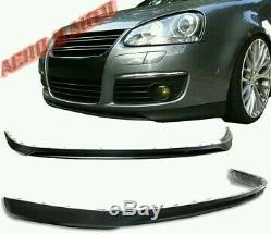 De VW Volkswagen Golf Mk5 Gti Tdi Jetta 06-09 avant Séparateur Pu PLASTIQUE