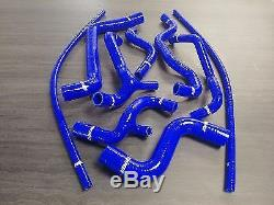 Durites silicone renforcée pour Volkswagen Golf 3 GTI 8s bleu