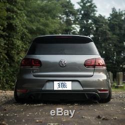 E-MARK Pour 2010-2014 Volkswagen Golf 6 MK6 GTI R Feu Arrière Paire De Lampes