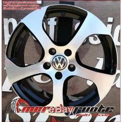 F164 Bd 4 Jante En Alliage Ece 18 X Volkswagen Golf 5 6 7 Gti Gtd Made In Italy