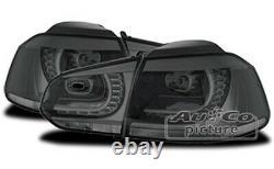 Feux Arrière LED Pour VW Volkswagen Golf 6 Gti R32 Paire Phares Lumières