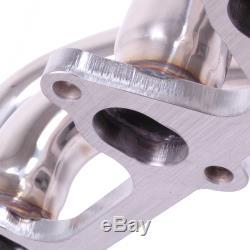 Inox 4-1 Echappement Collecteur Pour Volkswagen Vw Golf Gti Mk2 1.8 8v 83-92
