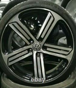 Jantes ORIGINAL Volkswagen Golf R GTI Cadiz 19 pouces 5G0601025AH VW destockage