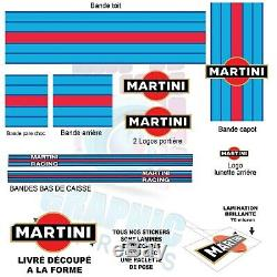 KIT MARTINI RACING GOLF 5 MK5 GTI stickers sticker autocollant VOLKSWAGEN