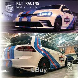 KIT RACING GOLF MK 7 6 5 GTI autocollant VOLKSWAGEN Le Mans car wrapping
