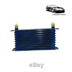 Kit Radiateur d'Huile 10 Rangées avec Durites pour Volkswagen Golf GTI / R