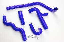 Kit de durites silicones VOLKSWAGEN GOLF GTI 16S MK2 Bleu