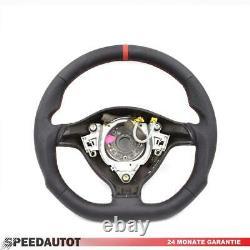Mise au Point Aplati Volant en Cuir VW Golf 4 Bora Passat 3B Gti Rouge Anneau 2N