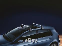Neuf Original VW Base Barres de Toit pour Golf VII / Gti / R à Partir 2013