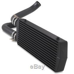 Noir Avant Mount Intercooler Fmic Kit Pour Volkswagen Vw Golf Gti 1.8t Mk4