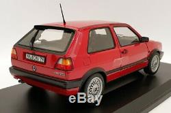 Norev 1/18 Scale Model 188438 1990 VW Golf GTi Red
