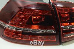 OEM VW Golf 7 Gti Original LED Arrière Feux Arrières En 4er Set 5G0945307F