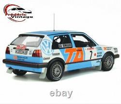 OTTO Mobile 118 Volkswagen Golf Mk. 2 GTI 16V Gr. A 1987 OT852 Pré comm / Février