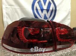 Original VW Feux Arrière LED Golf VI Gti / R-Design Complément D'Équipement avec