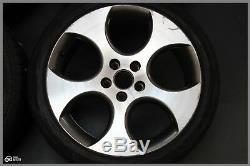 Original VW Golf 5 V 6 Gti Jantes en Alliage 7,5J X 18 Pouces et 51 Lk 5x112