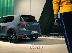 Original Volkswagen Diffuseur Arrière Golf 7 Gti Tcr Diffuseur Noir Brillant