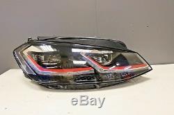 Original Volkswagen Golf MK7.5 Gti avant Phare O/S DRIVERS LED