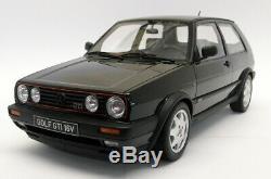 Otto 1/12 Scale Resin G044 Volkswagen Golf GTi Mk2 16V Black