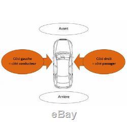 Pare-choc avec lave phare et radars avant Volkswagen Golf 6 GT/GTI/GTD depuis 2