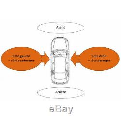 Pare-choc + lave phare + radars avant Volkswagen Golf 6 GT/GTI/GTD 05/2009