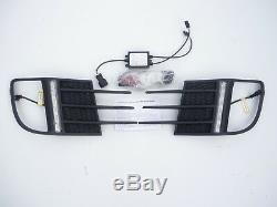 Phare Anti-brouillard Grille avec Led DRL pour Volkswagen Golf Gti mk6 2009-2012