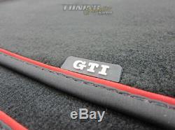 Pour Vw Golf 7 VII 4x Original Gti Velours Textile Premium Tapis de Sol Kit