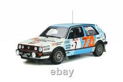 Pre order OttO118 Volkswagen Golf Mk. 2 GTI Gr. A #7 Rallye available end jan 21
