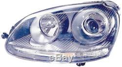 Projecteur Phare avant SX pour Volkswagen Golf 5 Gti 2004 au 2008 Xenon