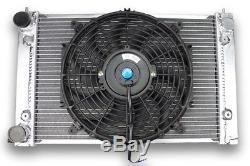 Radiateur Aluminium VOLKSWAGEN GOLF GTI 16S MK2 et ventilateur plat