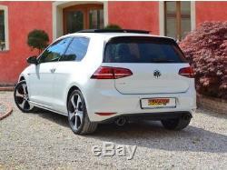 Silencieux arrière Groupe N Volkswagen Golf 7 GTI 2013 2016 Ragazzon