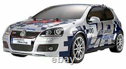 Tamiya Volkswagen Golf Gti Coupe Voiture Peint Rechange Corps Avec / LED TT-01E