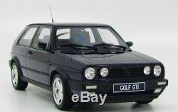 ULTRA RARE One Volkswagen VW Golf II GTI FIRE & ICE Otto edition 1/18 OTTOMOBILE