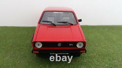 VOLKSWAGEN GOLF 1 GTI 1976 rouge 1/18 VITESSE V18202 voiture miniature collectio