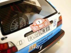 VOLKSWAGEN GOLF GTi 16s rallye de MONTE CARLO 1987 1/18