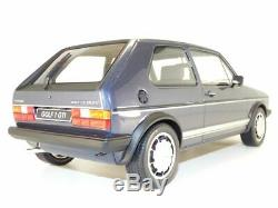 VOLKSWAGEN GOLF GTi 1800 plus Pirelli bleu Helios 1/12 VW