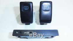 VW GOLF JETTA MK2 GTI 16V 8V G60 Digifiz switch clock Schalter Uhr 191 919 211
