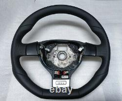 VW Golf 5 Gti Volant Bas Plat Perfora Jetta Eos