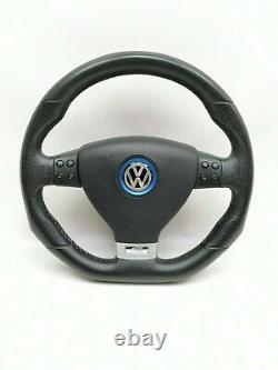 VW Golf 5 V Gt R Gti Sport Volant Aplati Cuir Multifonction