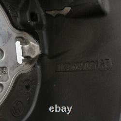VW Golf 5 V Gti R32 Original Volant Sport Aplati Cuir Perforé Noir Neuf