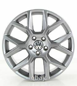 VW Golf 6 Gti 5K Édition Jantes 18 Pouces Jantes Watkins Glen Gris 5K0601025AG