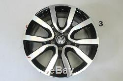 VW Golf 6 Gti Jantes en Alliage 18 Pouces Jeu de Serron 5K0601025AC