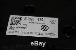 VW Golf 7 5G Gti Instrument Compteur de Vitesse Tachoelement Groupe 5G6920870