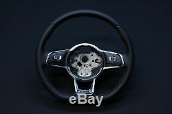 VW Golf 7 5G Gti Sport Cuir Volant Aplati Multifonction Teeter 5G0419091BR