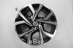 VW Golf 7 GTD Gti Jeu de Jantes Brescia 19 Pouces en Alliage 5g0601025cl