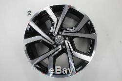VW Golf 7 GTD Gti Jeu de Jantes Brescia Jantes 19 Pouces Jantes en Alliage